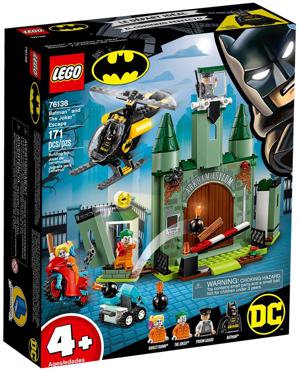 76138 Batman and the Joker Escape