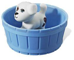 Dog in tub.JPG
