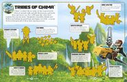 Legends of Chima Ultimate Sticker Collection 1