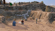 LEGO Jurassic World The Videogame Dig site