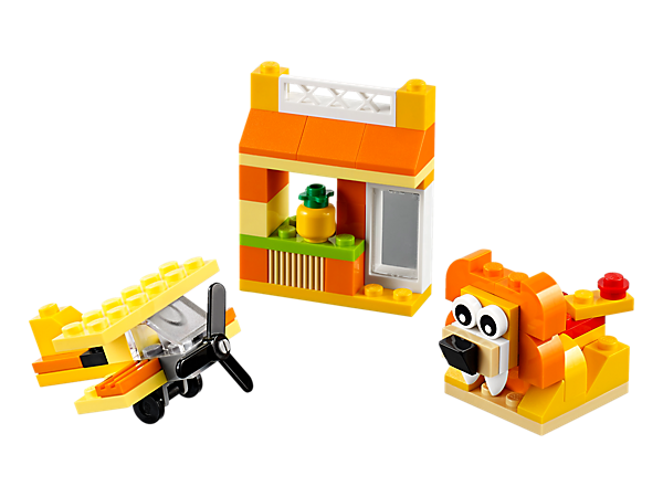 10709 Boîte de construction orange