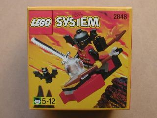 Bat Lord LEGO Minifigure Lot Castle 9376 2848