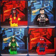 SDCC 2013 Figurines Super Heroes