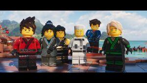 The LEGO Ninjago Movie BA-Ninjas