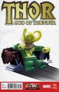 ThorGod of Thunder 14 Lego Variant