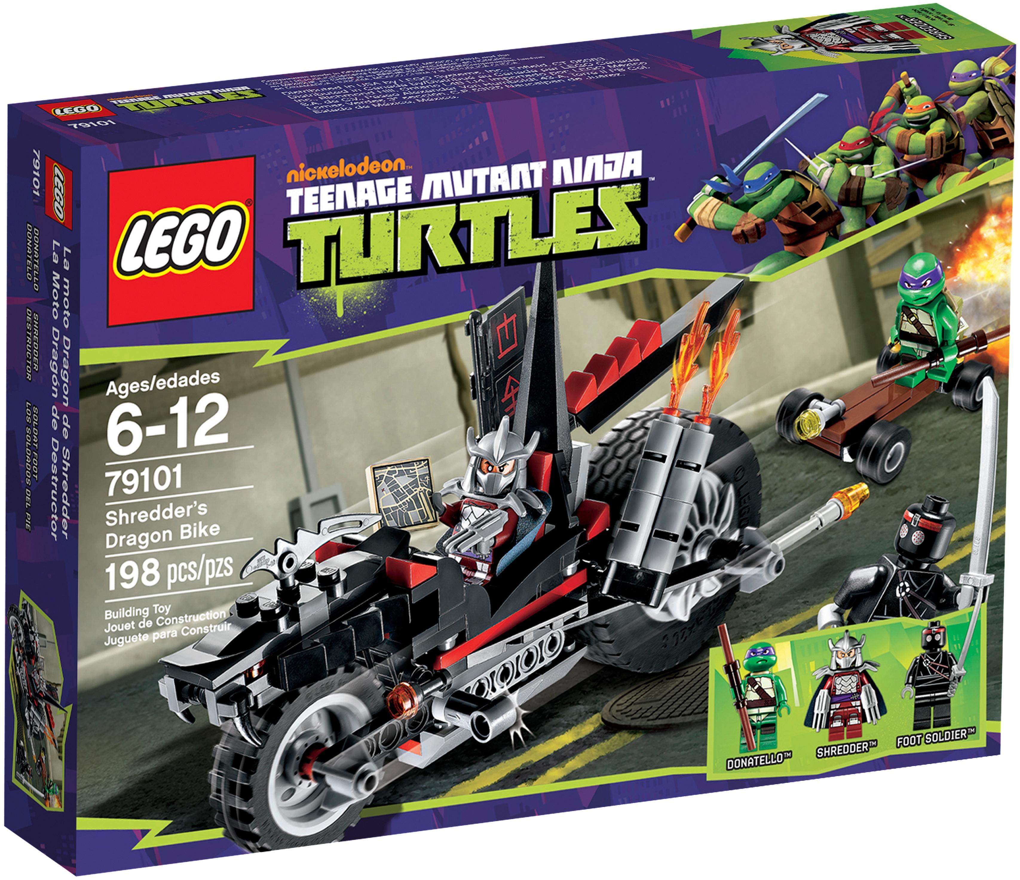 79101 Shredder's Dragon Bike