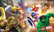 Marvel game poster