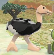 Ostrich Lego Worlds