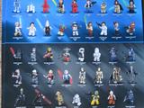 Star Wars Minifigure Poster 2011