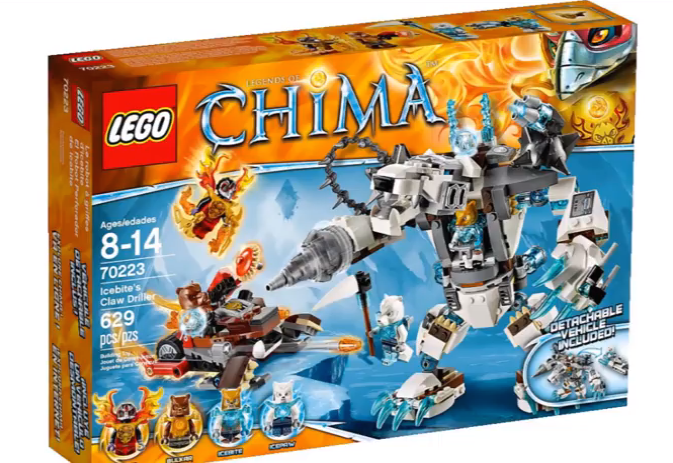 70223 Icebite's Claw Driller