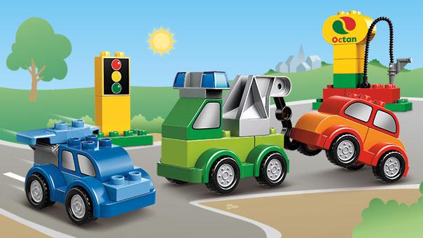 10552 Set de voitures à construire