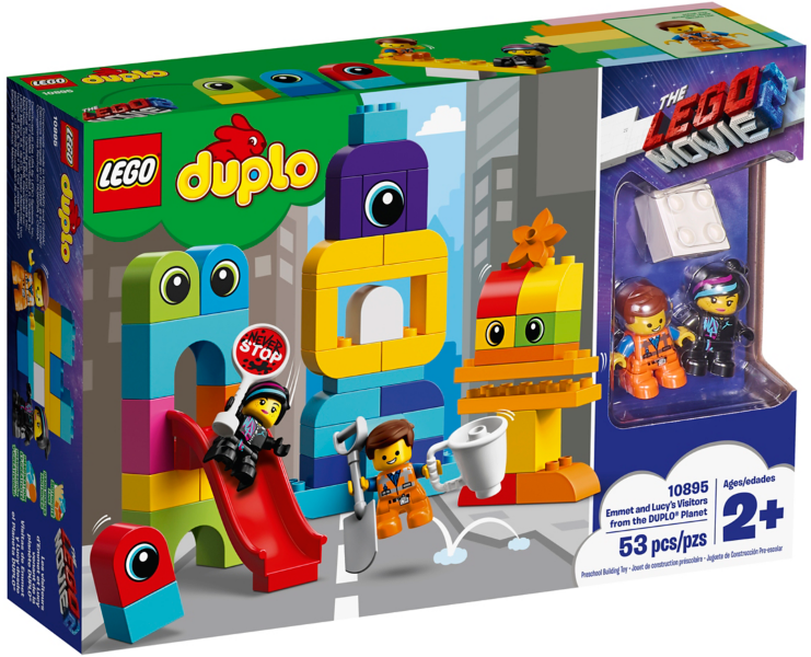 10895 Emmet and Lucy's Visitors from the DUPLO Planet