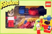 3795-Catherine Cat in her Kitchen