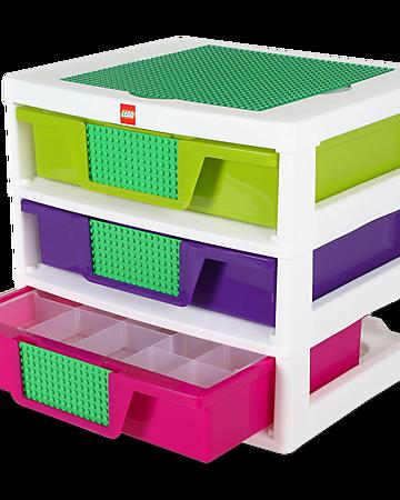 5001164 Caisse De Rangement A 3 Tiroirs Filles Wiki Lego Fandom