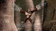 Gorille légendaire-La toile géante
