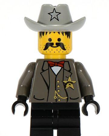 LEGO Western @@ Minifig ww021 @@ Sheriff 6712 6755 6764 6765 6799
