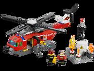 60010 L'hélicoptère des pompiers