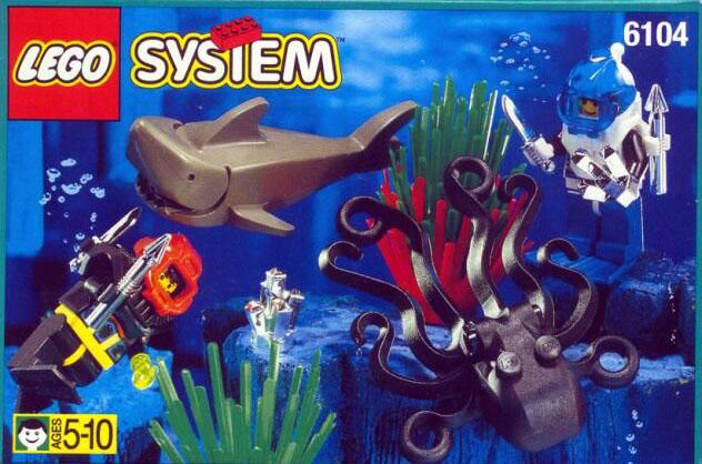 6104 Aquacessories / Aquanauts & Aquasharks