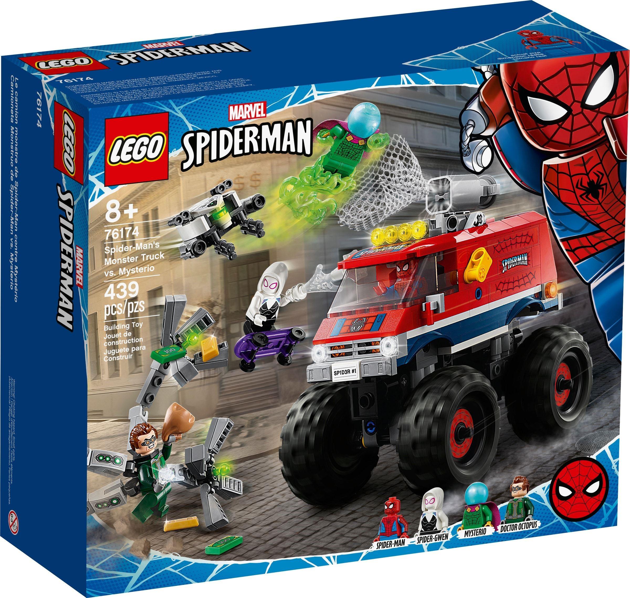 76174 Spider-Man's Monster Truck vs. Mysterio