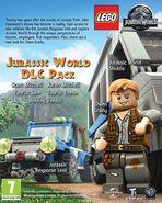 LEGO Jurassic World The Videogame DLC pack