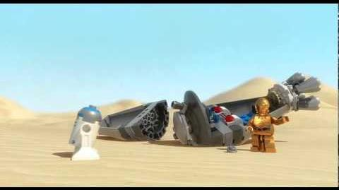 LEGO STAR WARS - Droid Escape 9490