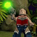 Lex Luthor (Déguisement Wonder Woman)-Batman 3