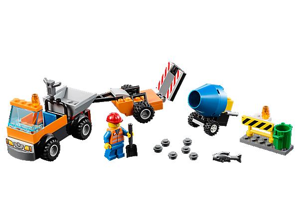 10750 Le camion de réparation des routes
