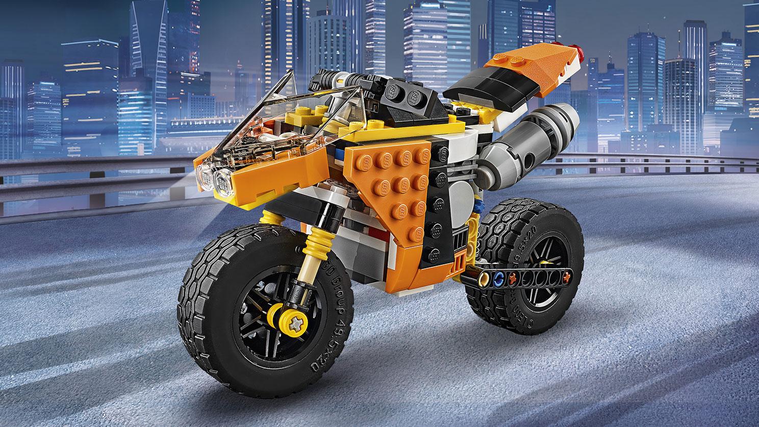 31059 La moto orange