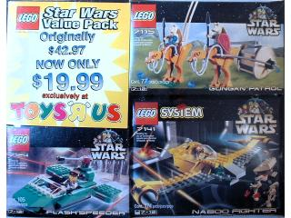 65028 Star Wars Co-Pack