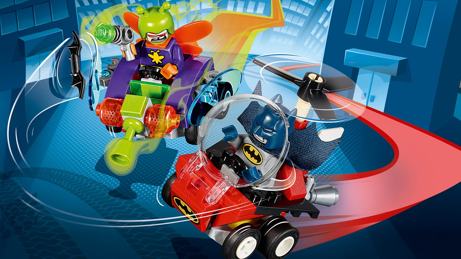 76069 Mighty Micros : Batman contre Killer Moth