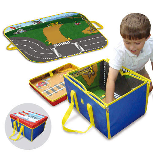 A1305XX LEGO City ZipBin Toy Box and Playmat