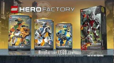 Hero Factory Nex vs