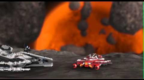 LEGO STAR WARS - Republic Striker-class Starfighter 9497