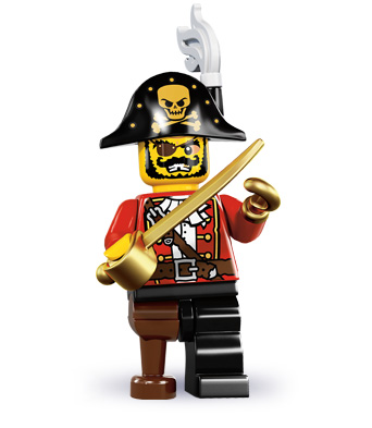 Capitaine des pirates (Série 8)