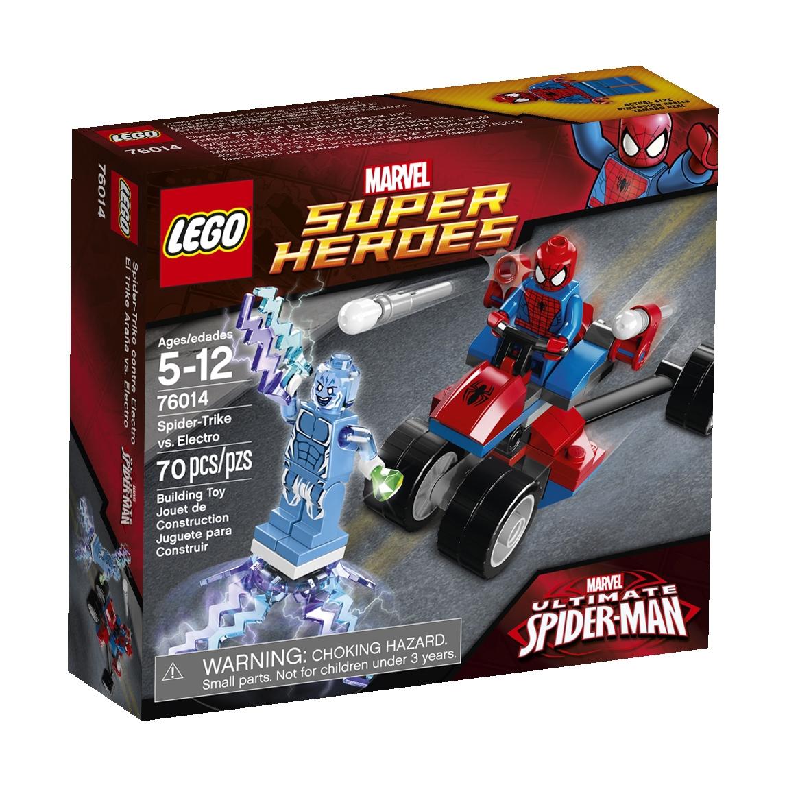 76014 Spider-Trike vs. Electro