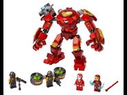 76164 Iron Man Hulkbuster contre un agent de l'A.I.M.