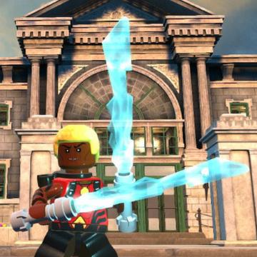 Aqualad minifigure action movie DC Comic toy figure