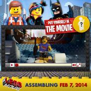 The lego movie trailer maker