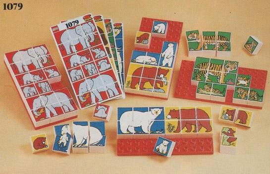 1079 DUPLO Animal Mosaic