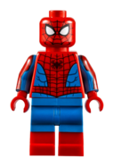 LEGO Spider-Man 2021 with boots