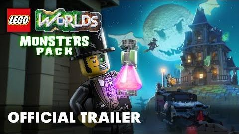 LEGO Worlds Monsters Pack Official Trailer