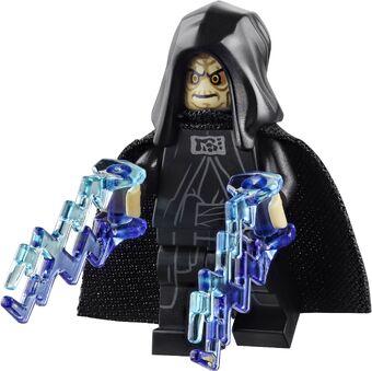 Darth Sidious Star Wars minifigure  palpatine emperor cartoon toy figure