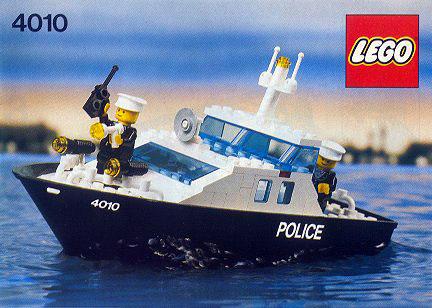 4010 Police Rescue Boat