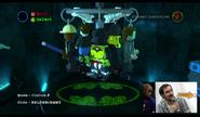 LEGO Character creator Vixen torso + Brainiac legs