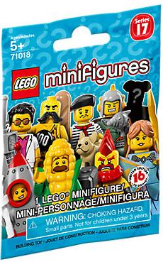 71018 Minifigures Series 17