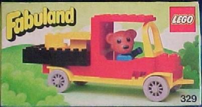329-Bernard Bear and Pickup Truck.jpg