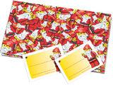 851680 Santa Gift Wrap and Tags