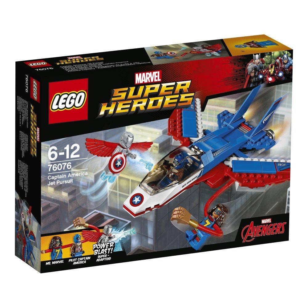 76076 Captain America Jet Pursuit