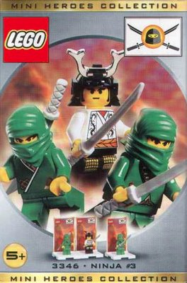3346 Green Ninja & Samurai Lord