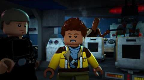 "Disney XD's ""LEGO Star Wars The Freemaker Adventures - Luke and Leia Clip"